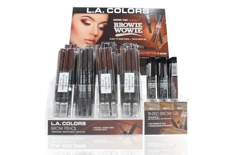 L.A. Colors Browie Wowie Display en 180 unidades en un display