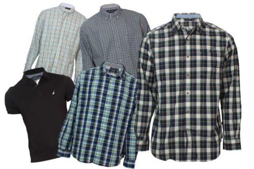 wholesale-nautica-mens-shirts-lot-