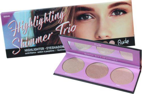 Rude Cosmetics Highlight Shimmer Trio (RC-65540)