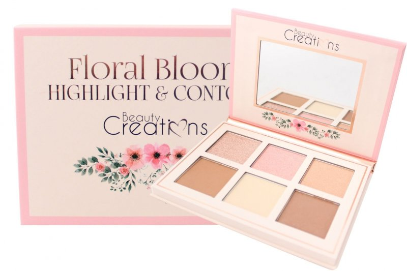 Beauty Creations Floral Highlight & Contour (Cf01)