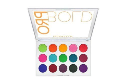 Kleancolor Pro Bold Pressed Pigment Palette Display (ES1523)
